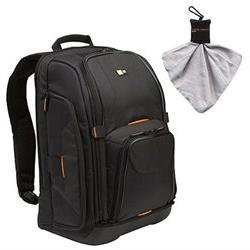 Case Logic Digital SLR Camera Backpack Case   with Spudz Mic