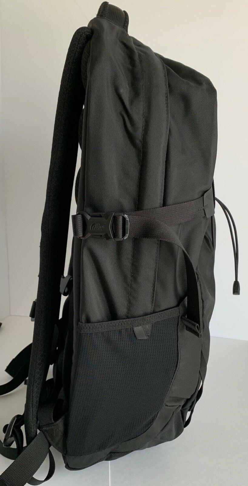 The Face Solid State Black Laptop Backpack, TNF Resistant