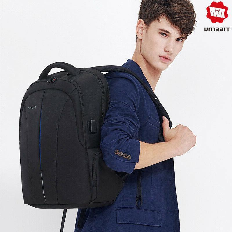Tigernu Splashproof 15.6inch Laptop Backpack NO Key TSA Anti