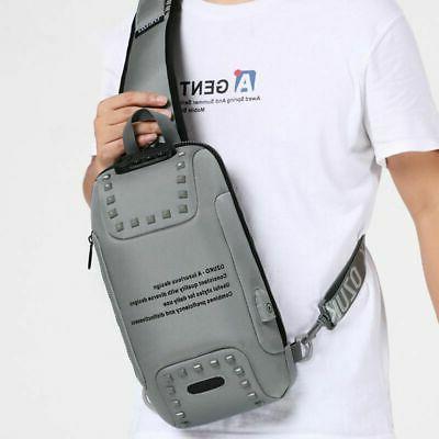 Stylish Oxford Anti-theft Lock Backpack Laptop