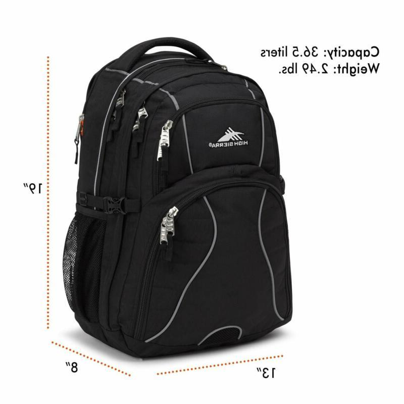High Swerve Backpack, 17-inch Backpack for or C