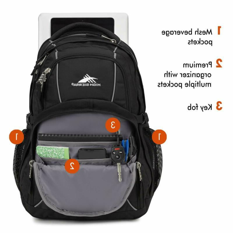 High Backpack, Laptop for High or C