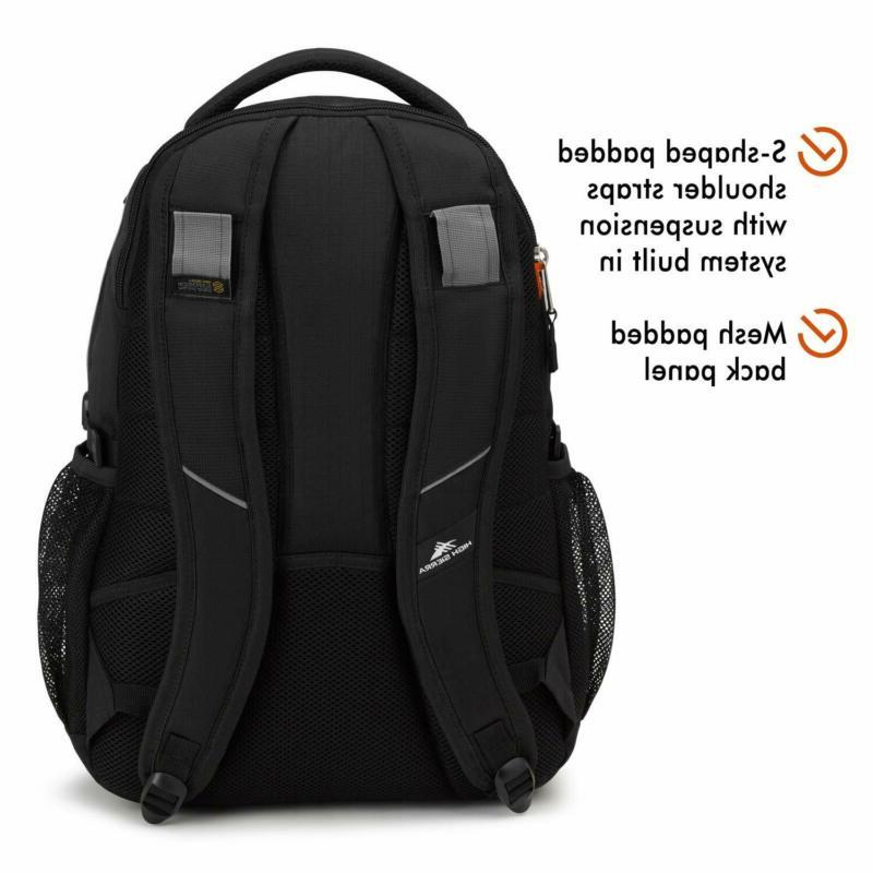 High Sierra Swerve Backpack, Laptop for High or C