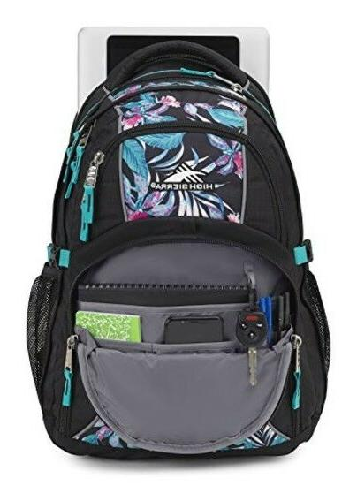 High Sierra Laptop Backpack for Nights/Turquoise