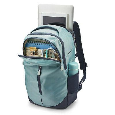 High Sierra Swerve Pro Laptop Backpack Gray Blue/Blue