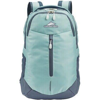 swerve pro laptop backpack gray blue blue