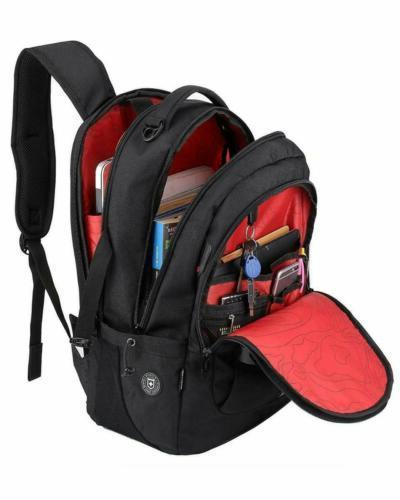 Swiss Notebook Laptop Rucksack Hiking Travel