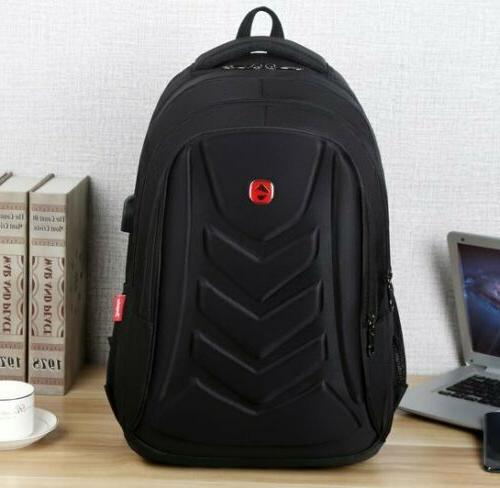 "Swiss 15.6"" EVA shell USB Charge Port Travel Bag"