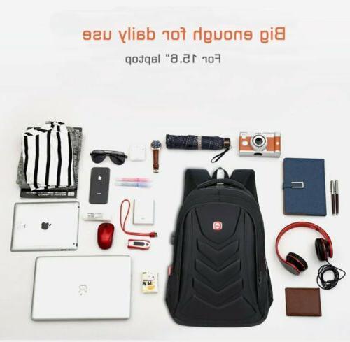 "Swiss 15.6"" EVA USB Charge Port Bag"