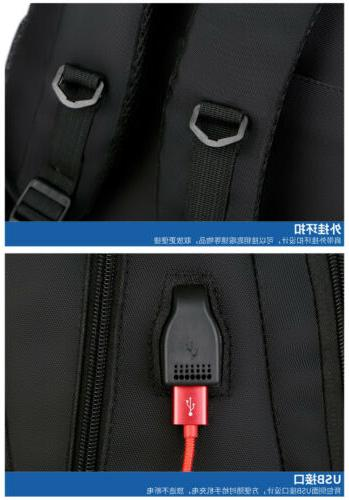 "Swiss EVA Protect 15.6"" Laptop Charge Port Bag"