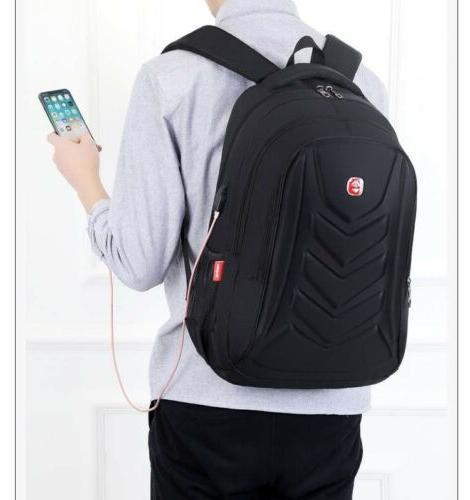 """Swiss EVA shell 15.6"""" Backpack Charge Bag"""