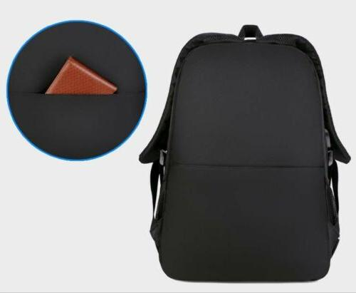 "Swiss Protect 15.6"" Laptop Backpack USB Charge School Bag"