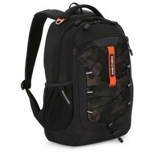 Swiss Gear 18.5 Travel School Bag Black New