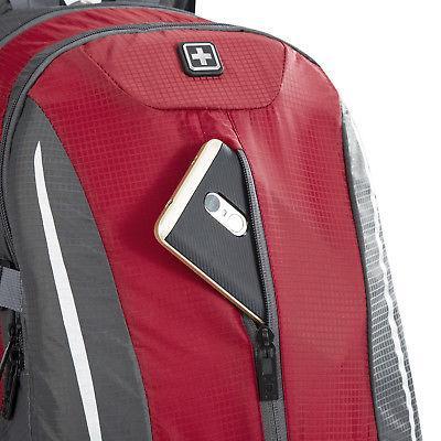 Swiss Laptop 17'' Backpack Travel Bag Shoulder