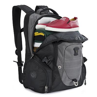 swiss gear waterproof travel bag laptop backpack