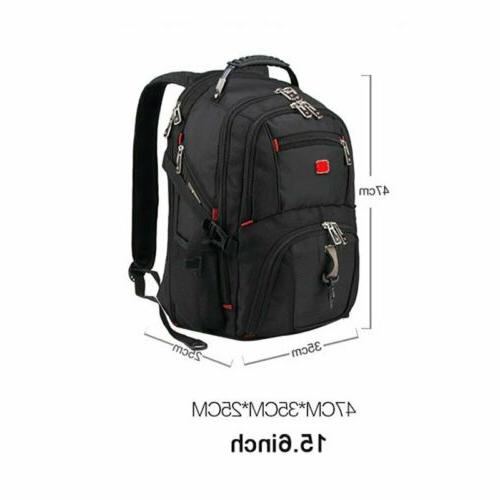 Swiss Multifunctional Travel Camping USB Charge School bag