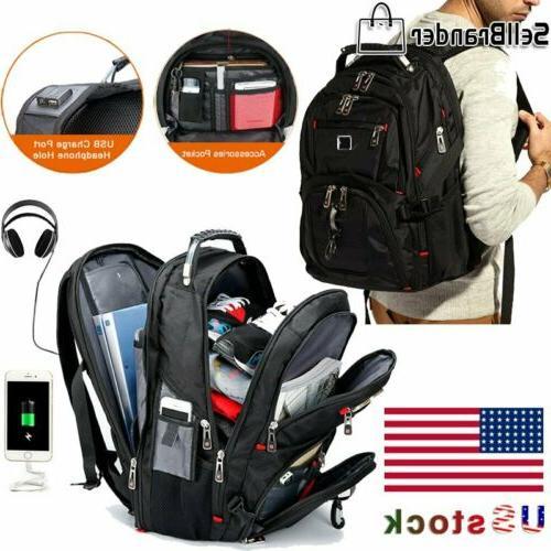 swiss multifunctional 15 6 laptop backpack travel