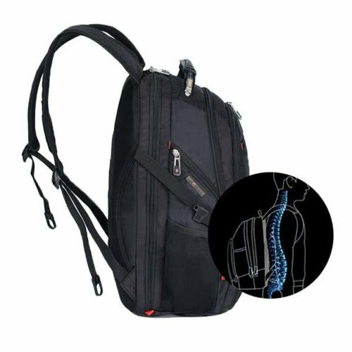 Swiss Backpack Travel Camping USB Charge School bag