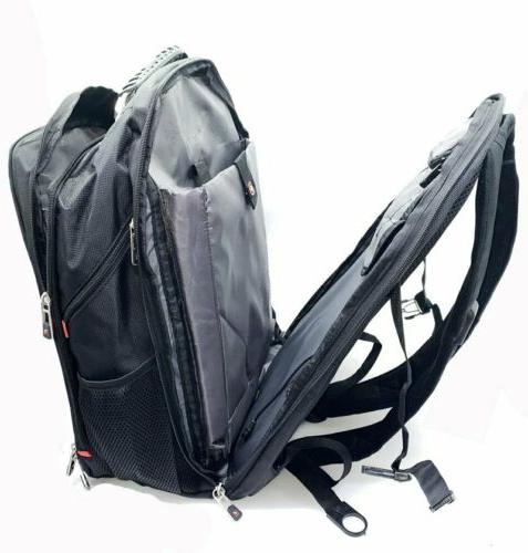 Swiss Multifunctional 17'' Laptop Backpack Charge School