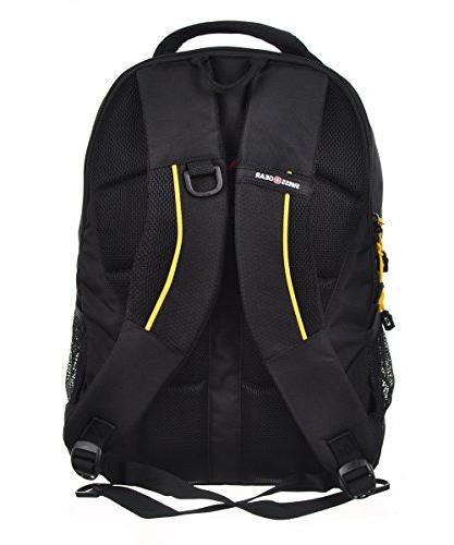 "SwissGear 18.5"" Backpack Black Cod/ Gold"