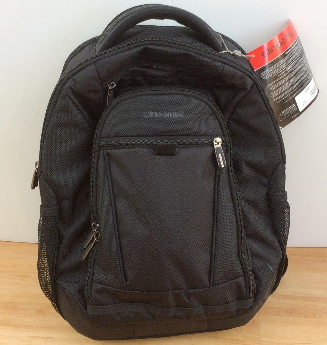 Samsonite Laptop /MacBook Black Backpack New