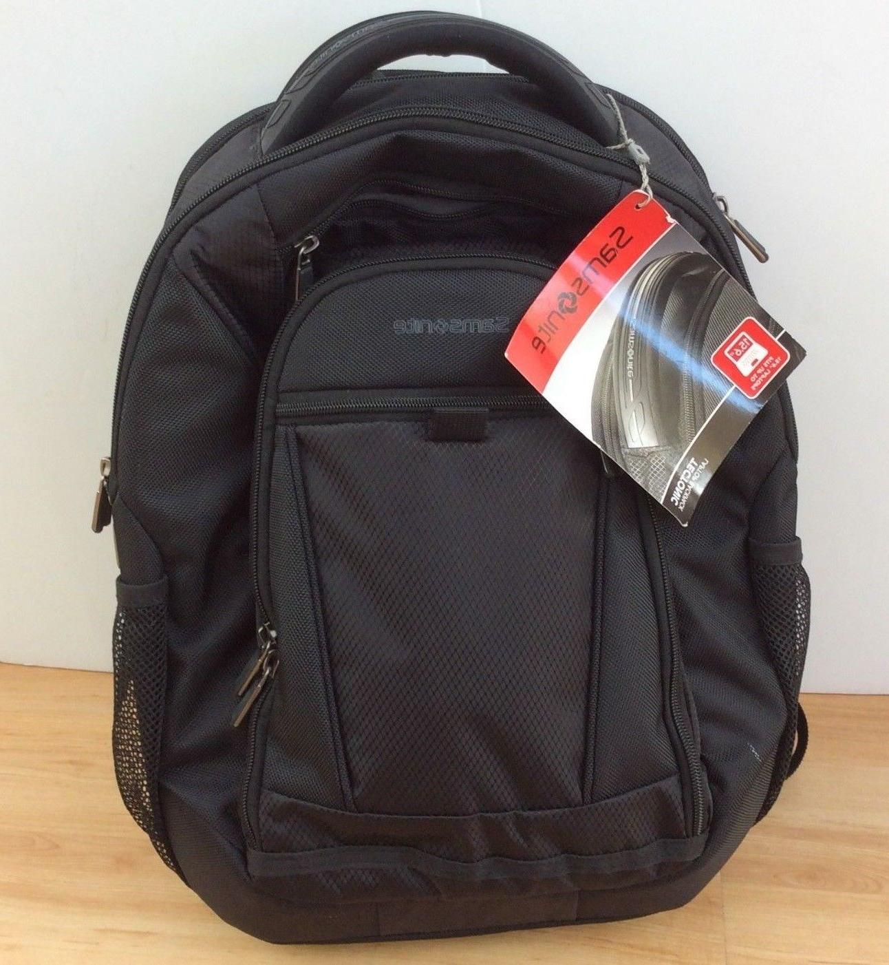 tectonic 15 laptop macbook pro black backpack