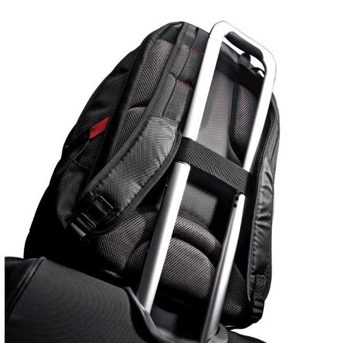 Samsonite Tectonic for Notebook Black, - Resistant Slip Resistant Shoulder Polyester, Ballistic Fabric - Friendly - Handle x x