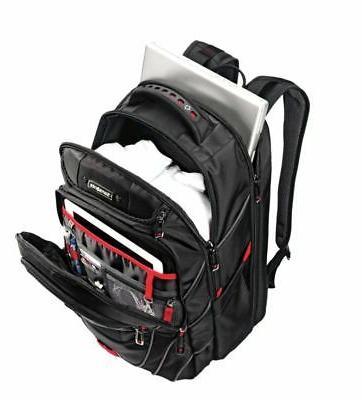 Samsonite® PerfectFit Laptop Backpack, Black/Red