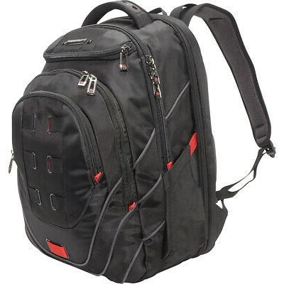 tectonic pft 17 backpack black red business