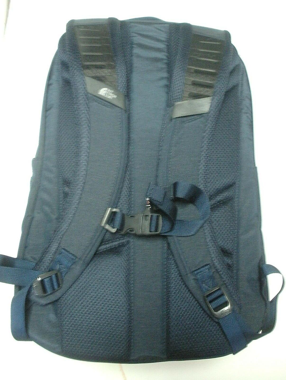 THE NORTH FACE BACKPACK- NAVY L WHITE
