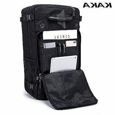 KAKA Men Women Multifunction 17.3 Travel Luggage