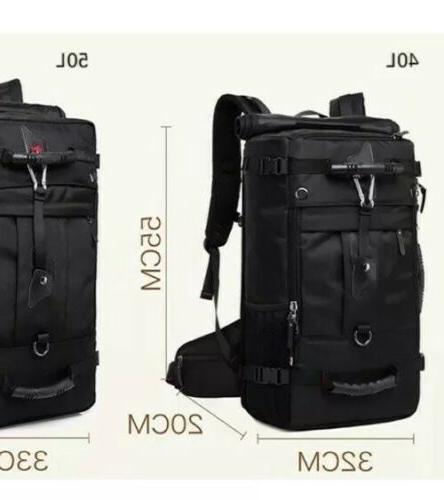 KAKA Travel Backpack,Laptop Waterproof Backpack Liters black)