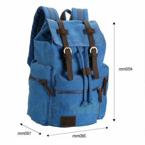 Travel Canvas Camping Hiking Backpack