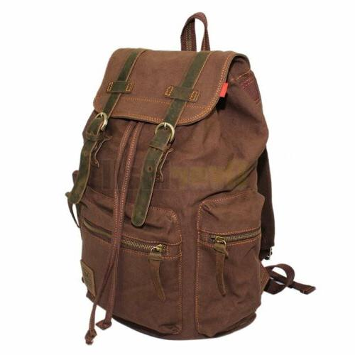 Travel Canvas Sport Rucksack Camping Hiking Bag