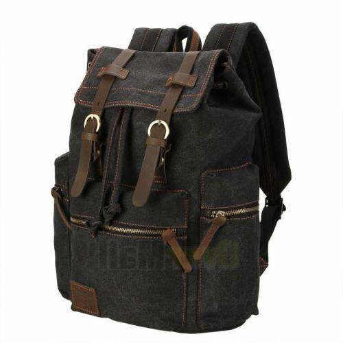 Travel Camping School Satchel Laptop Hiking Backpack