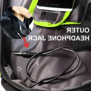 Travel Gear Black Backpack