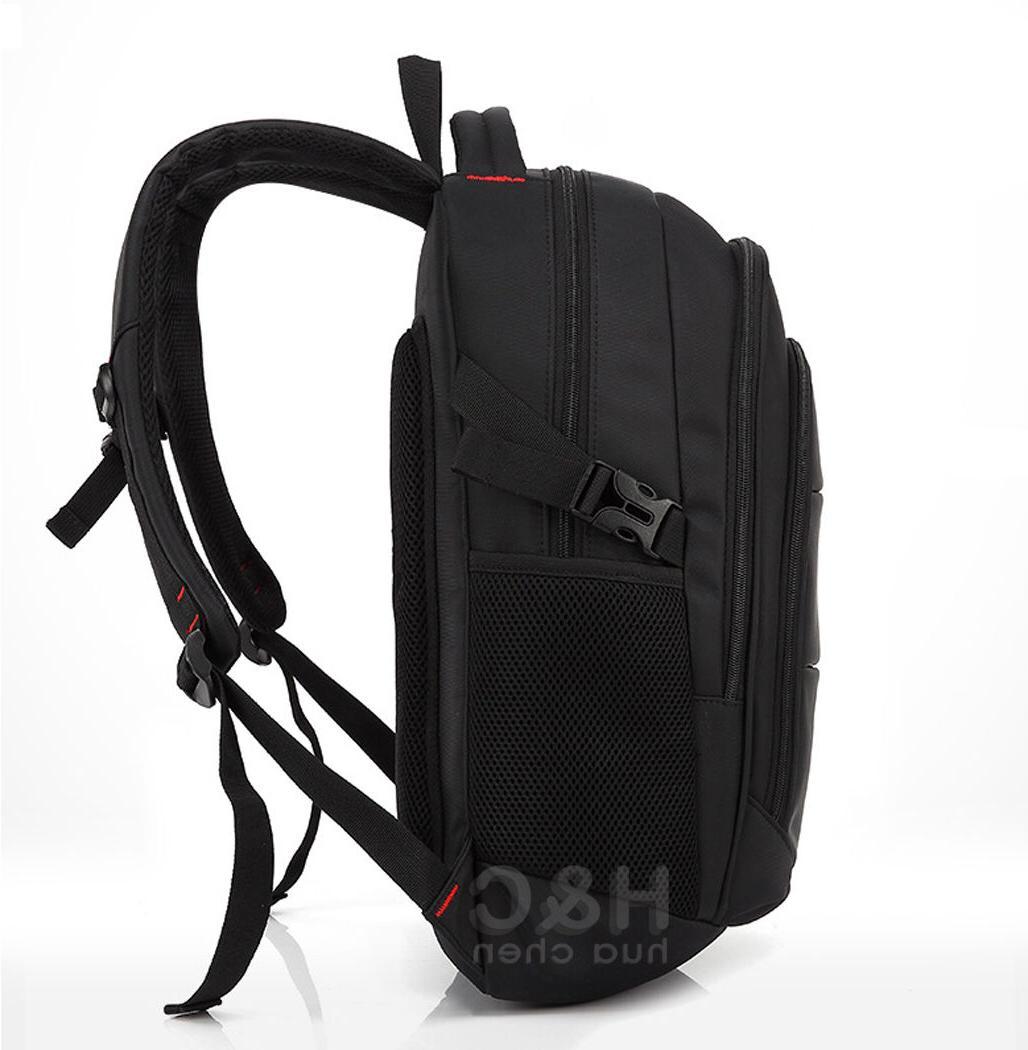 """Travel 17"""" Laptop School Bag Hiking Shoulder Notebook"""
