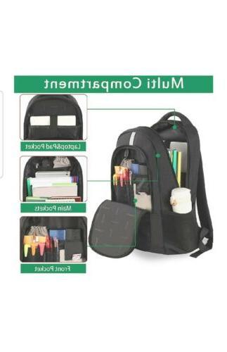 Mancro Backpack, Anti Theft Backpack USB Port