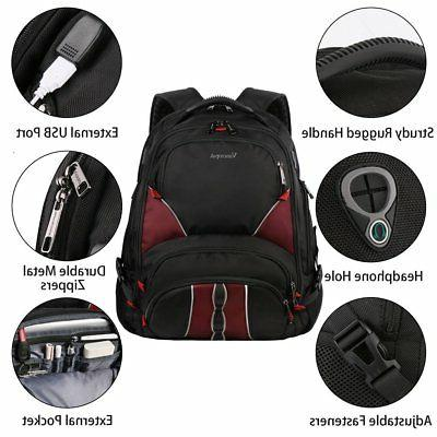 Travel Laptop Large,USB Charging 17 Inch,Ergonomic