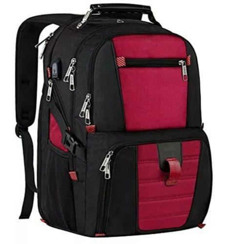 travel laptop backpack usb charging port 17