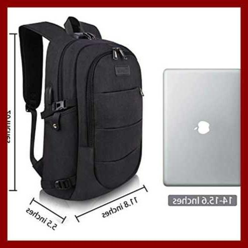 Travel Laptop Resistant Theft W Charging & Lock