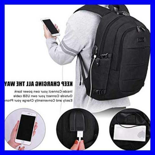 Travel Backpack Resistant W & Lock