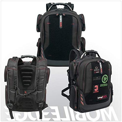 """Gaming Front 17""""-18"""" Black Red"""