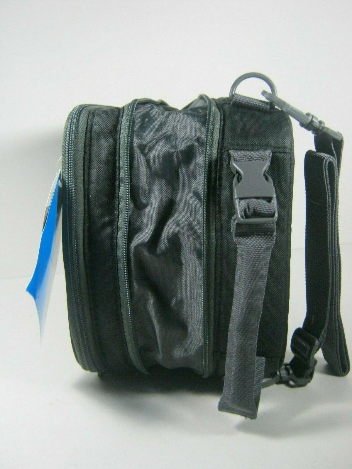 Columbia Safe Lunch Pack Black Grid Bag