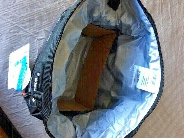 Columbia Ultra Safe Insulated Lunch Box Black Microban Zinc