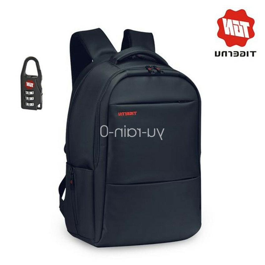 unisex men waterproof business laptop backpack school