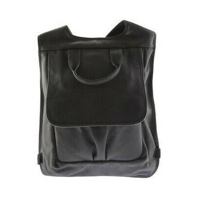 unisex slim laptop flap backpack 3083