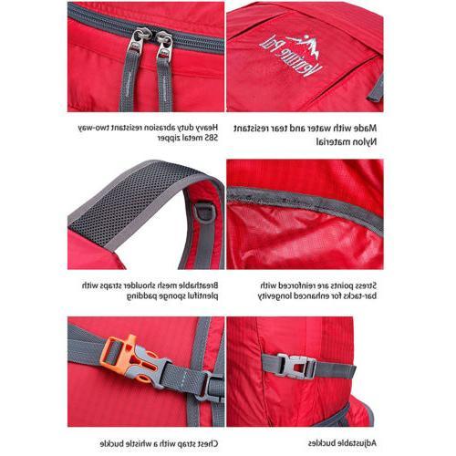 Unisex Shoulder Laptop Hiking Waterproof Zipper School