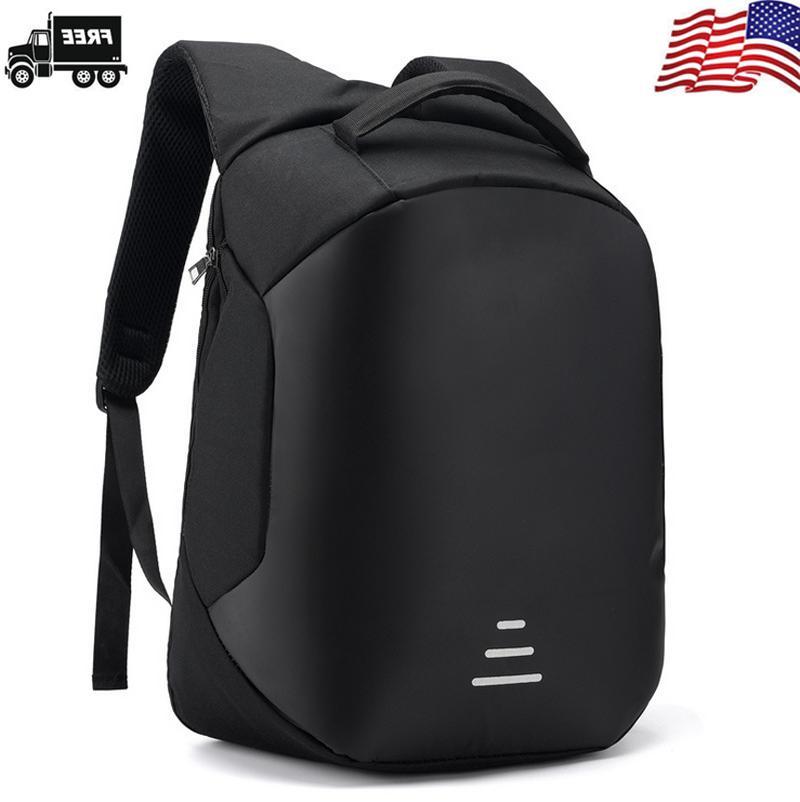 US Anti-theft Mens Laptop Business Bag
