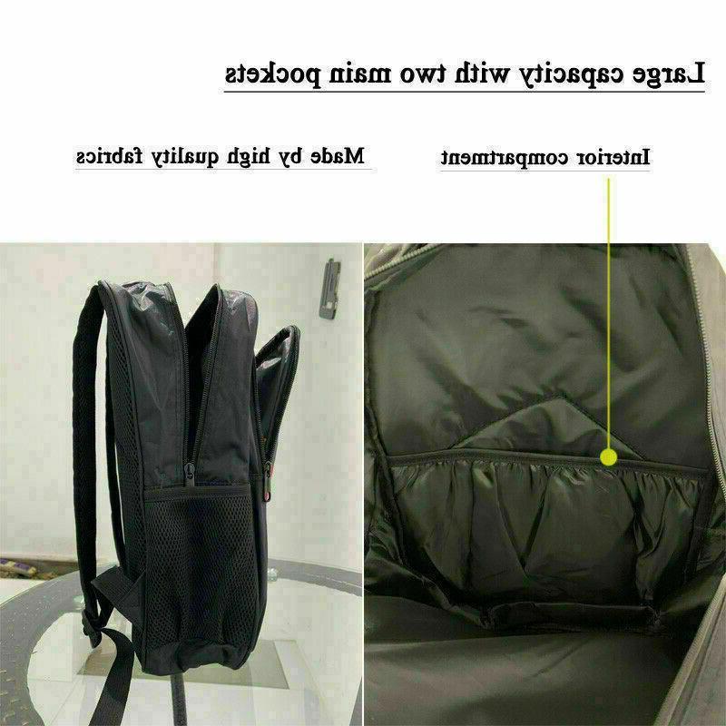 Boys Bookbag Students Bag Travel Laptop Bag